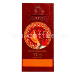 Шоколад Kudvic 70% из какао бобов Colombia Santander