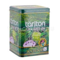 Чай Tarlton зеленый Soursop 250 гр ж.б.