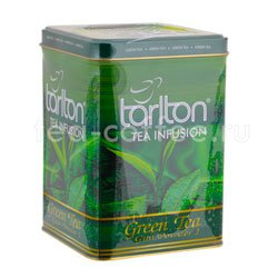 Чай Tarlton Green Tea 250 гр ж.б.