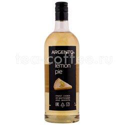 Сироп Argento Лимоный пирог 1 л Россия