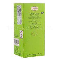 Чай Ronnefeldt Green Angel BIO / Зеленый чай со вкусом груши и персика в пакетиках 25 шт.х 2.5 гр