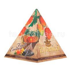 Чай Zylanica Black Tea Fruit Exotica в пирамидках