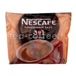 Кофе Nescafe растворимый 3 в 1 Мягкий 50 шт по 16 гр
