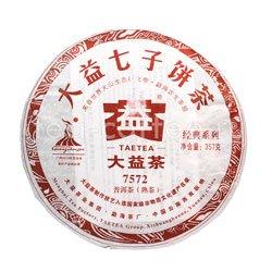 Пуэр блин Tae Tea 7572  357 г (шу)