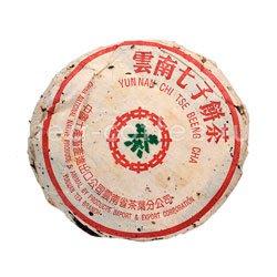 Пуэр блин Юннань Чи Цзе Бин Ча 1987 г 357 гр