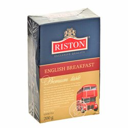 Чай Riston English breakfast черный листовой 200г