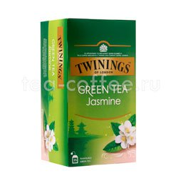 Чай Twinings зеленый  жасмин (25 пакетиков)
