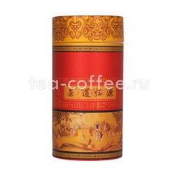 Банка картонная средняя для хранения чая