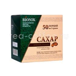 Сахар пряный для кофе Bionik 50 стиков
