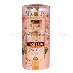 Чай Basilur 2 в 1 Димбула и Английская Роза 125 гр