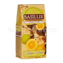 Чай Basilur Волшебные фрукты Лимон и Лайм 100 гр