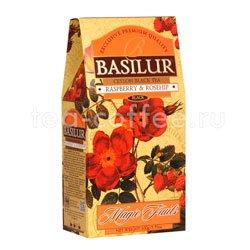 Чай Basilur Волшебные фрукты Малина и шиповник 100 гр