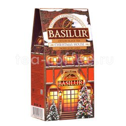 Basilur Рождественский домик 100 гр картон