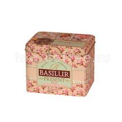 Чай Basilur Подарок Розовый 100 гр