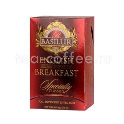 Чай Basilur Избранная классика Английский завтрак