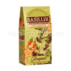Чай Basilur Букет Зеленая свежесть 100 гр Шри Ланка