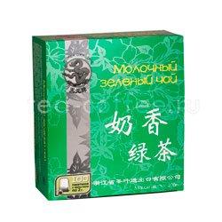 Чай Черный Дракон Молочный зеленый чай 100 пакетиков
