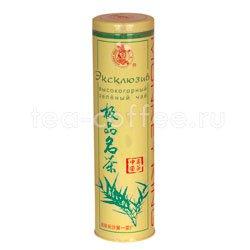 Чай Король обезьян Эксклюзив высокогорный зеленый чай 120 гр ж/б