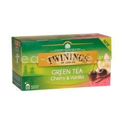 Чай Twinings Зеленый Вишня и Ваниль (25 пакетиков)