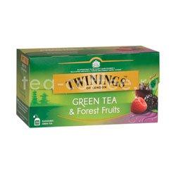 Чай Twinings Зеленый Лесные Ягоды (25 пакетиков)