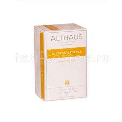 Чай Althaus Ginseng Balanсе/Джинсенг Баланс для чашек 20х1,7гр