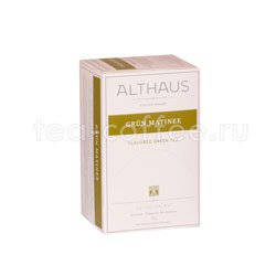 Чай Althaus Grun Matinee 20х1,75 гр Германия