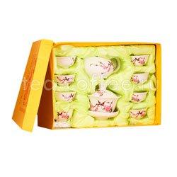 Чайный сервиз 10 предметов Фарфор SLI-249