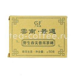 Чай Пуэр плитка 50г (шен)