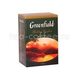 Чай Greenfield Golden Ceylon 200 гр