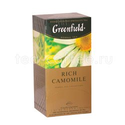 Чай Greenfield Rich Camomile Пакетики