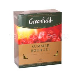 Чай Greenfield Summer Bouquet 100 пакетиков