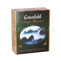 Чай Greenfield Magic Yunnan 100 пакетиков