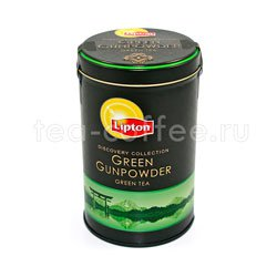 Чай Lipton Green Gunpowder 100 гр
