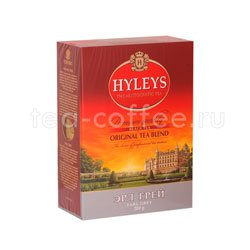 Чай Hyleys Эрл Грей крупнолист. 200 гр