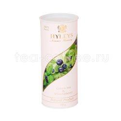 Чай Hyleys Гармония Природы Суприм зеленый с черникой 100 гр (туба)