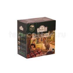 Чай Ahmad Tea в пирамидках Chocolate Brownie. Ахмад Шоколадный Брауни