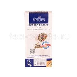 Фильтры для чая отбеленные S 100 шт