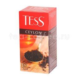 Чай Tess черный Ceylon 25 шт