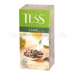 Чай Tess зеленый Lime (Цедра цитрусовая) 25 шт