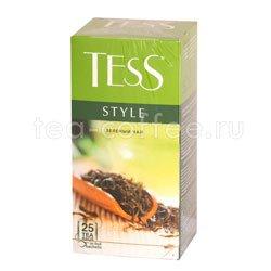 Чай Tess зеленый Style 25 шт