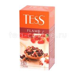 Чай Tess Flame (Гибискус с ароматом земляники с розовым перцем) 25 шт