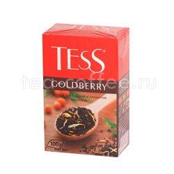 Чай Tess черный Goldberry (Айва и аромат облепихи) 100 гр
