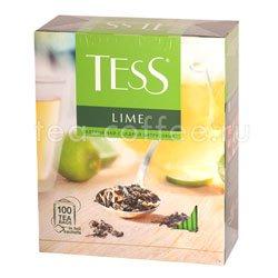Чай Tess зеленый Lime (Цедра цитрусовая) 100 пак.