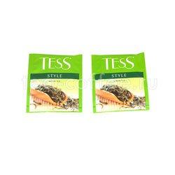Чай Tess зеленый Style 100 пак. п/э ХРК