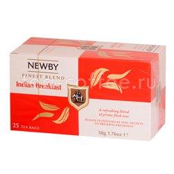 Чай Newby Индийский завтрак 25 шт