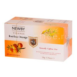 Чай Newby Ройбуш и апельсин 25 шт