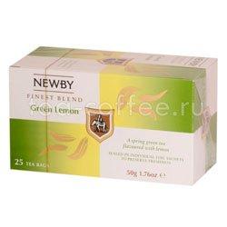 Чай Newby Зеленый лимон 25 шт Китай