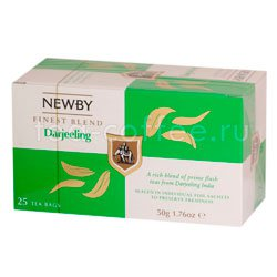 Чай Newby Дарджилинг 25 шт