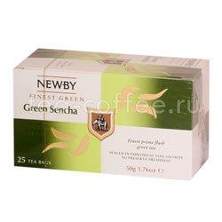 Чай Newby Зеленый сенча 25 шт