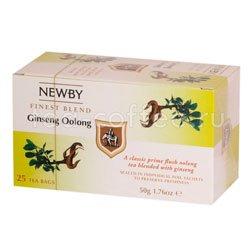 Чай Newby Женьшеневый улонг 25 шт Китай